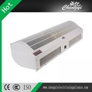 China Eco - Friendly High Grade Heated Air Curtain , Warm Air Curtain Doors on sale