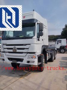 China RHD 10 Wheels 6x4 371 HP Tow Tractor / Prime Mover Truck with 1 sleeper 3.5inch king pin on sale