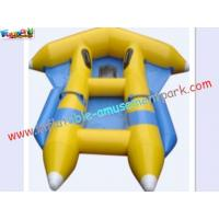 Customized 0.9MM PVC tarpaulin Inflatable fly-fish Boat Toys for Kids