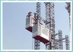 China Double Cage Passenger And Material Hoist 2700kg Construction Elevator on sale