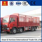 Commercial Cargo Truck SINOTRUK HOWO 12Wheels Euro2 336HP for Logistics