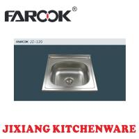 square kitchen sink stainless steel