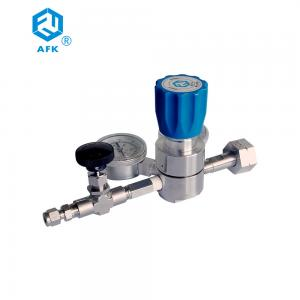 China High Pressure Piston Type Stainless Steel Oxygen Pressure Regulator on sale