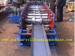 China Galvanized Automatic Seamless Gutter Machine , Rain Gutter Roll Forming Machinery on sale