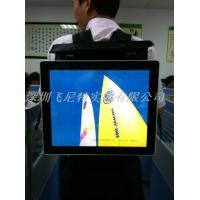 Portable Indoor 22 Inch Backpack Advertising Display Player with High Definition