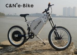 China Lightweight Outdoor Sports Off Road Electric Bike , Electric Powered Bicycle on sale