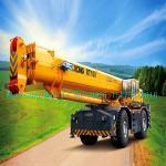 Boom Truck Crane XCMG RT100 100ton rough terrain crane all wheel Drive With Cummins Engine