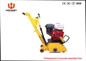 China Yellow Concrete Scarifier Machine Remove Road Line From Concrete Floor And Asphalt Floor on sale