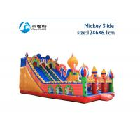 Amusement Park Giant Inflatable Slide Mickey Inflatable Commercial Slide