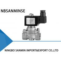 China Z4 Stainless Steel Solenoid Valves For Water Direct Acting Solenoid Valve on sale