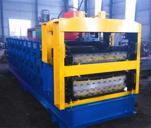 China Three Phase Steel Sheet Wall ,  Roof Cutting Machine 5 Ton Hydralic Contaoled on sale