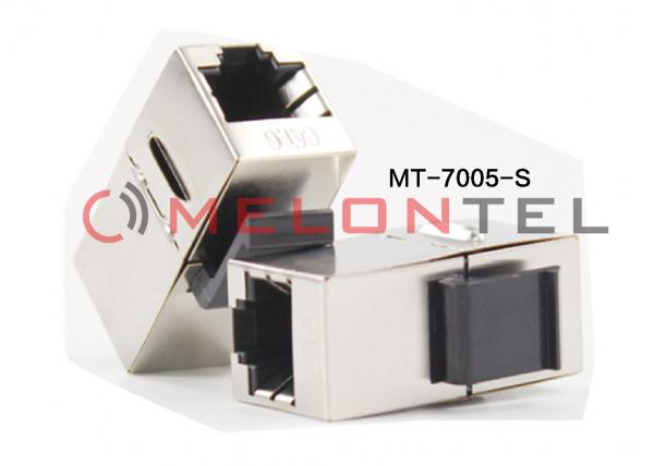 2 x CAT6 Shielded Ethernet RJ45 InLine Modular Coupler Adapters Cable Extender