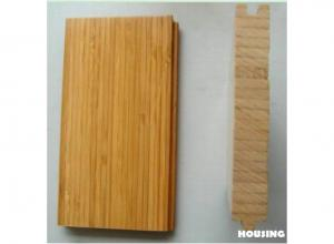 China Carbonized Vertical Eco Friendly Bamboo Flooring ISO9001 , ISO14001 on sale