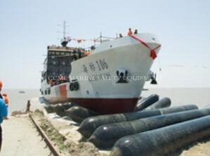 China Inflatable Marine Rubber Airbag For Lifting And Launching on sale