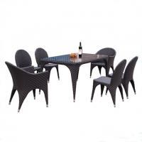 outdoor furniture garden rattan dining set