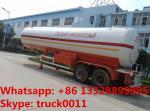 Double BPW/FUWA axles lpg road tanker trailer,  40.5cbm Propane tanker trailer 17ton lpg Road tanker