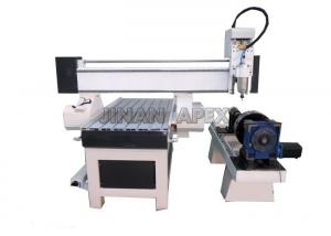 China Small 4 Arotay 4 AxisDesktop CNC Router Machine AC220V 380v / 50Hz 1212 6090 on sale