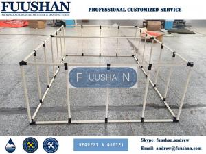 China Fuushan Plastic Flexible frame work drinking Water Storage Tank on sale
