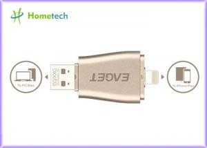 China Portable Android OTG USB Flash Drive 128gb 3 In 1 Aluminum For Iphone on sale