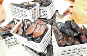 China Export Used Mens Used Shoes for Africa Big Size OEM Men Leather Shoes on sale
