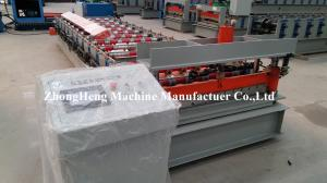 China Steel Plate Roofing Sheet Wall Panel Roll Forming Machine With Hydraulic Decoiler on sale
