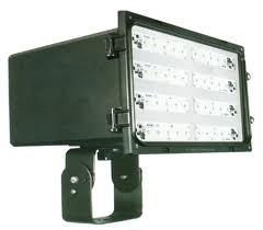 China High power Bridgelux 100W COB led outdoor flood lighting fixtures for commercial building on sale