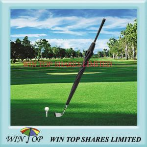 China guarda-chuva do golfe da invenção, guarda-chuva do clube de golfe on sale
