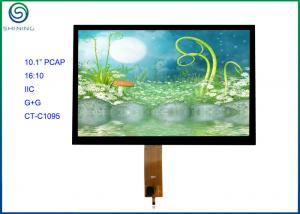 China 10.1'' IIC PCT / PCAP Projected Capacitive Touch Screen COF Type For Touch Kiosks on sale