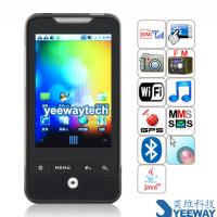 G6(A6363) Quad Band Single Card Single Camera WIFI Bluetooth Java Android 2.2 GPS 3.2-inch Touch Screen Phone