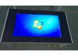 China 1920x1080 Resolution 49 Inch Interactive Touch Screen Table For Restaurant / Coffee Shop on sale
