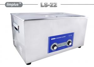 China Heated 22 Liter Table Top Ultrasonic Cleaner Bath For Musical Instruments Washing on sale