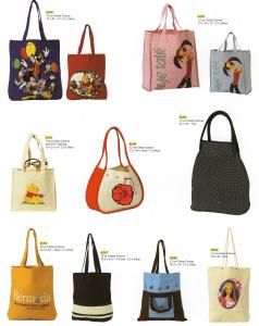 China Ladies canvas tote bag on sale