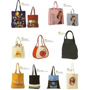 China Ladies canvas tote bag on sale