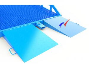 China Easy Operation Container Unloading Ramp , Mobile Ramp For Unloading Trucks on sale