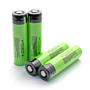 China Genuine Panasonic NCR18650B 3400mah 3.7 volts rechargeable lithium battery protection with button top on sale