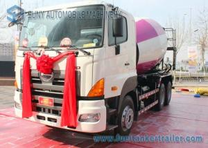 China 6X4 HINO 700 Cement Mixer Truck 10Cbm 350Hp Single Cab 3D Mixing on sale