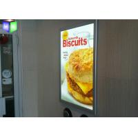 Hanging Poster Snap Frame Light Box High Brightness 3D Laser Engraving