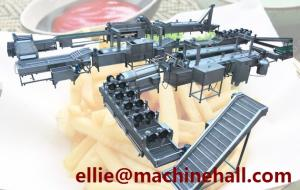 China Frozen French Fries Automatic Machine For Sale|Finger Chips Making Machine on sale