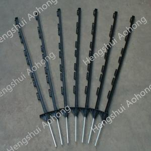 China Plastic post for electric fencing length:1.2m 2.0m ,plastic stakes for electric fencing on sale