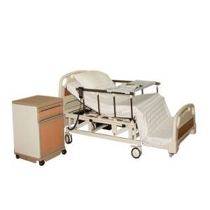 China Metal Electric Nursing Bed Carbon Steel With ABS Panel Five Functions Motor on sale
