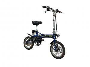 China Adult Lithium Bicycle Li - Ion Battery , Aluminum Alloy Frame Foldaway Electric Bike on sale