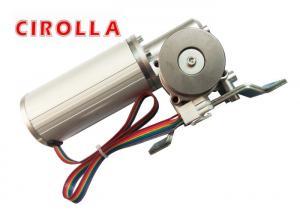 China Round Brushless DC Motor Silent Work For Heavy Duty Sliding Door operator , 24v brushless motor on sale