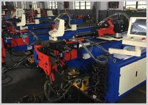 China PLC Control Electric Pipe Bending Machine with teo Axis driving Tube Bending Machine on sale