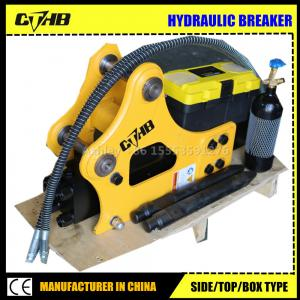 China Top open box silenced  type hydraulic breaker hammer for cat jcb excavator on sale