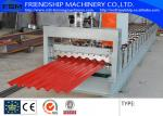 China Color Plate / Galvalume Corrugated Roofing Sheet Making Machine For Civilian Buildings wholesale