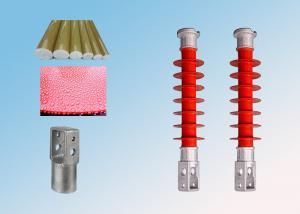 China 10kV 2.5kN SiliconeRubber Cross Arm Insulator OHSAS18001 Certification on sale