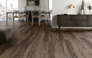 China Anti - Slippery Vinyl Click System Flooring 100% Virgin Material Available on sale