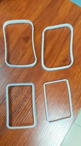 China Standard And Custom Molded Square Rectangular Silicone Rubber Sealing Gasket on sale