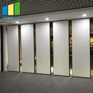 China Modern  Interior Office Moving Operable Partition Wall With Suspended Track System on sale