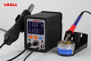 China 2 in 1 Hot Air Rework LCD Digital Electronic Soldering Station Hot Air Gun Station 995D on sale